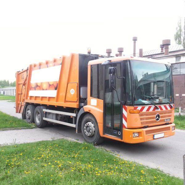 Śmieciarki i urządzenia komunalne